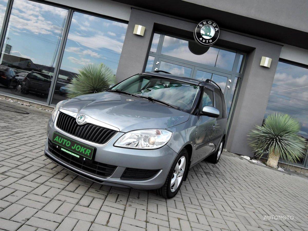 Škoda Roomster, 2011 - celkový pohled