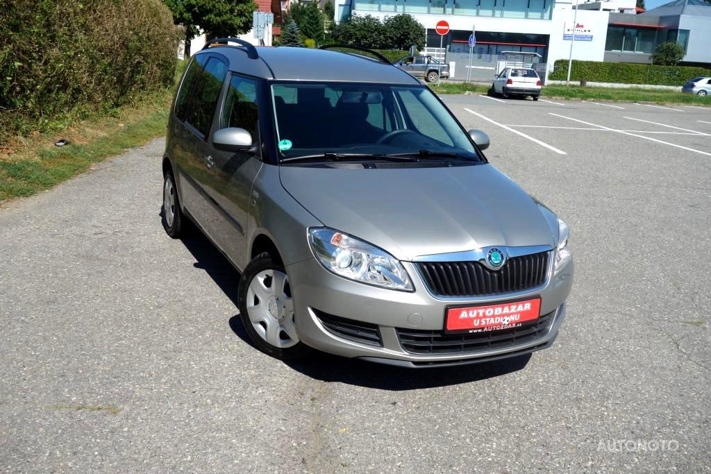 Škoda Roomster, 2012 - celkový pohled