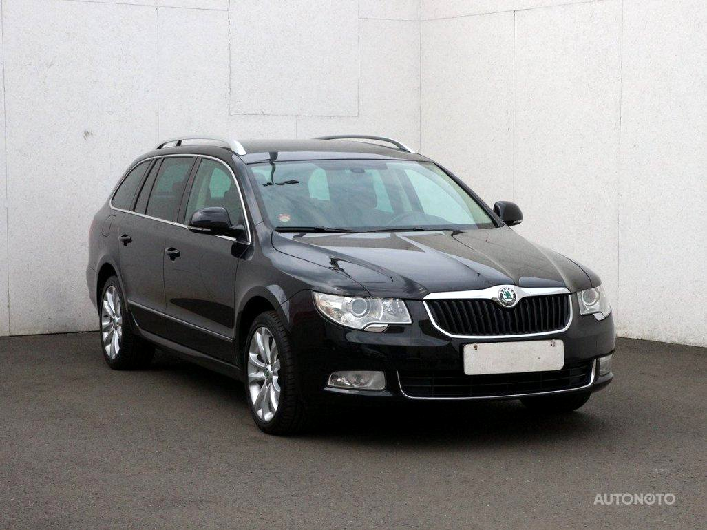 Škoda Superb II, 2011 - celkový pohled