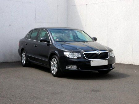 Škoda Superb II, 2012
