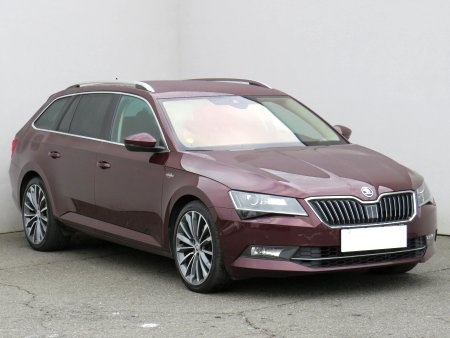 Škoda Superb III, 2015
