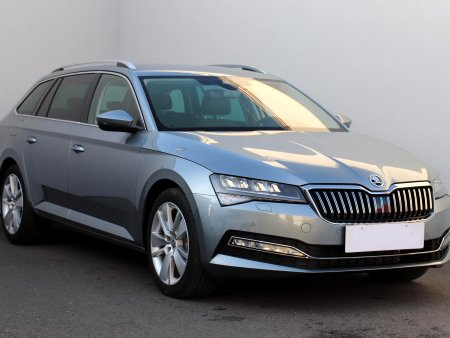 Škoda Superb III, 2020