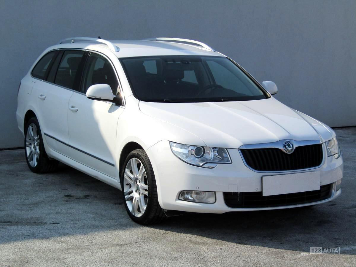 Škoda Superb, 2010 - celkový pohled