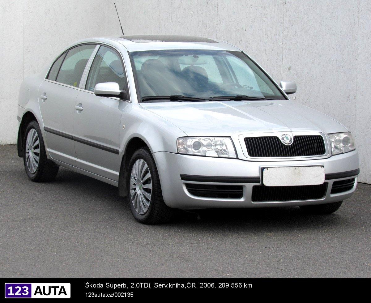 Škoda Superb, 2008 - celkový pohled