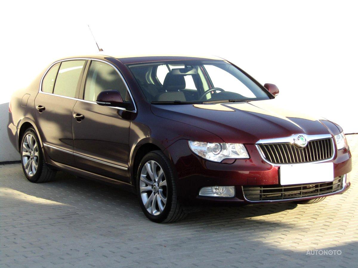 Škoda Superb, 2009 - celkový pohled