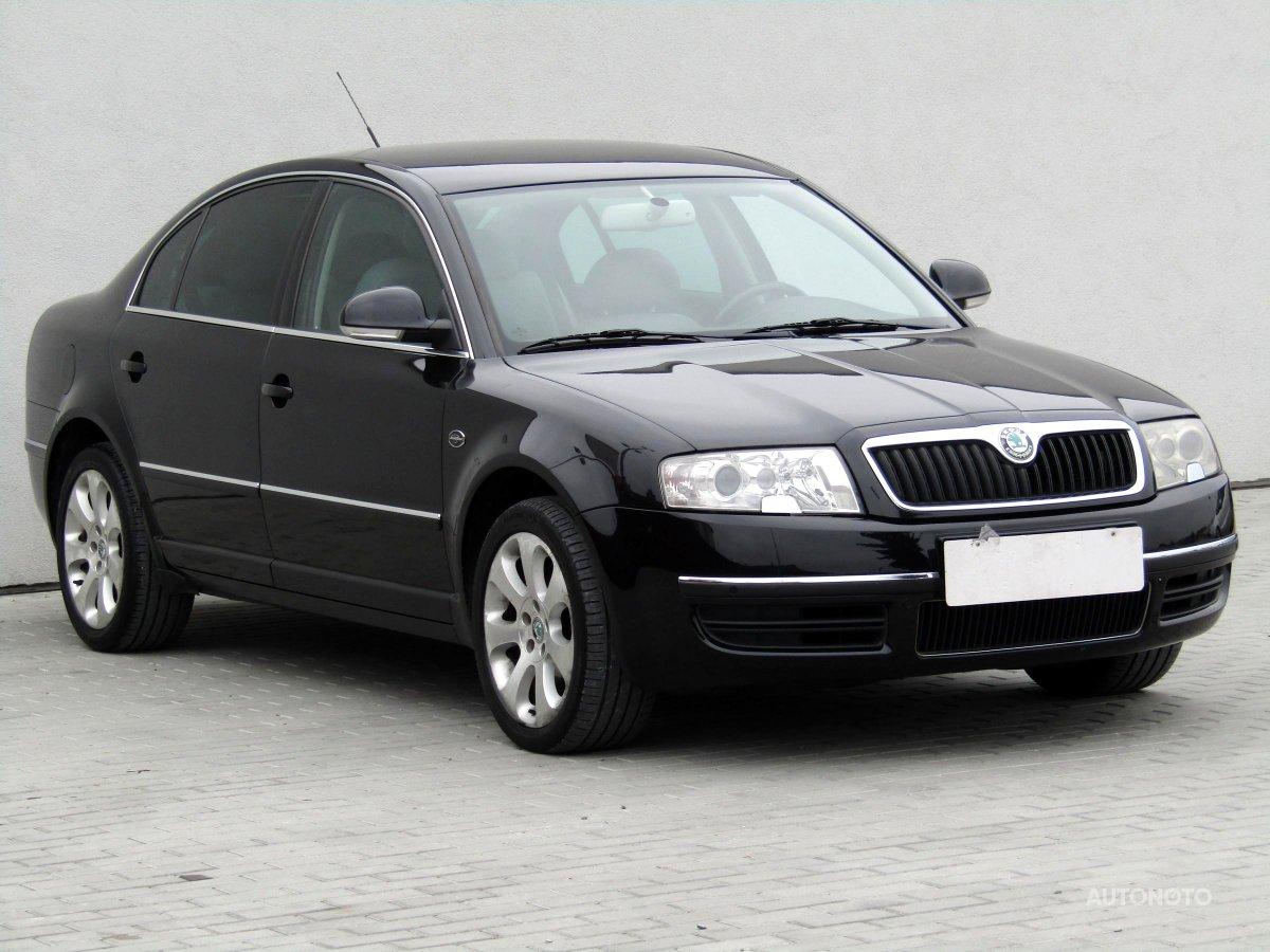 Škoda Superb, 2007 - celkový pohled