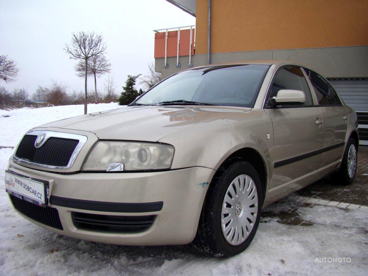 Škoda Superb, 2005 - celkový pohled