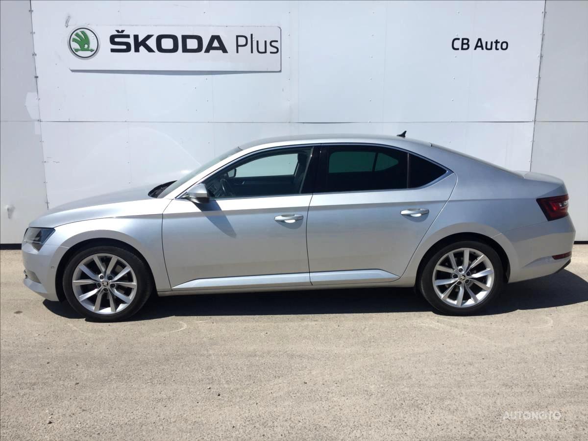 Škoda Superb, 2015 - celkový pohled