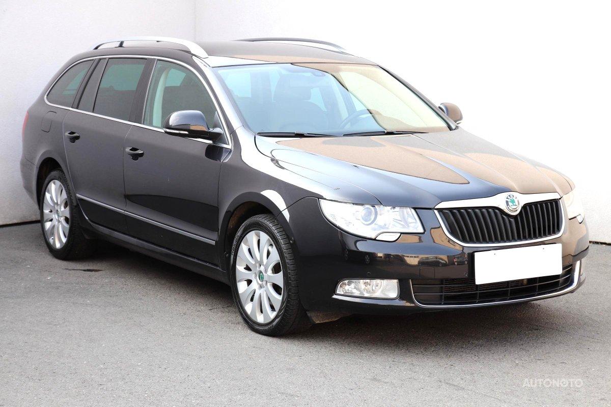 Škoda Superb, 2011 - celkový pohled