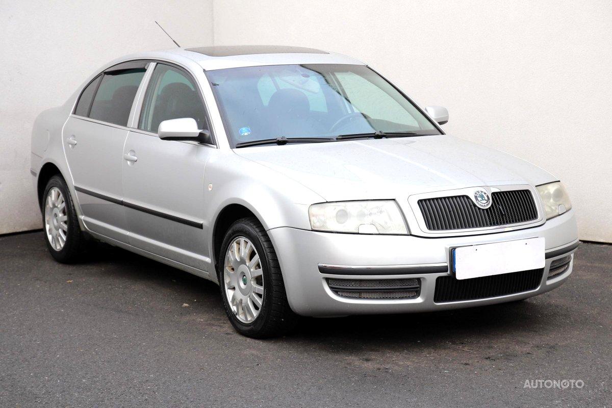 Škoda Superb, 2004 - celkový pohled