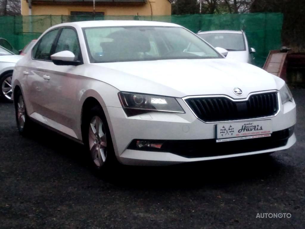 Škoda Superb, 2016 - celkový pohled