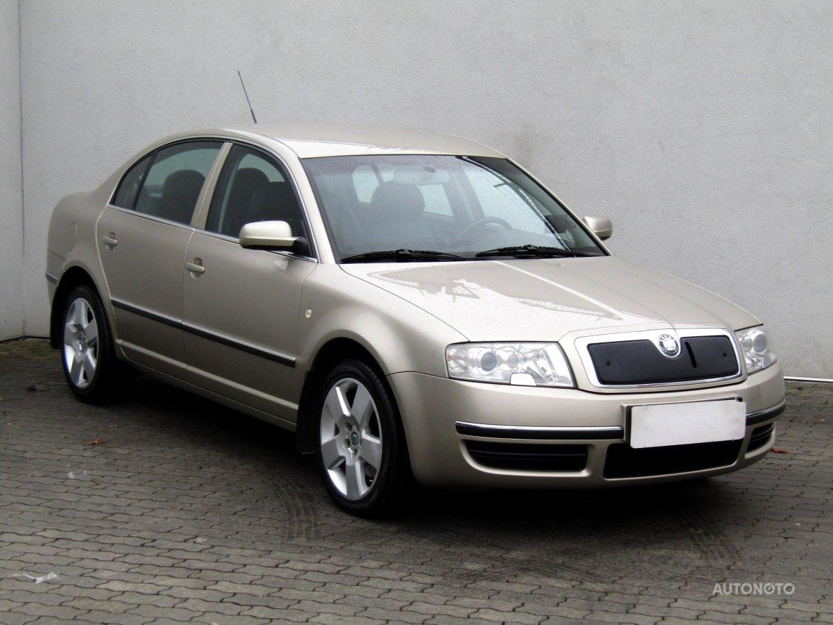 Škoda Superb, 2003 - celkový pohled