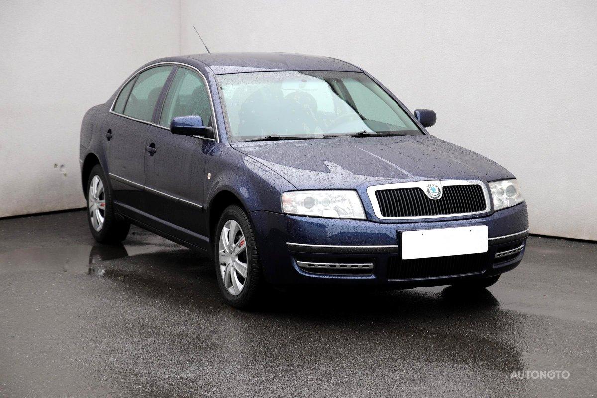Škoda Superb, 2002 - celkový pohled