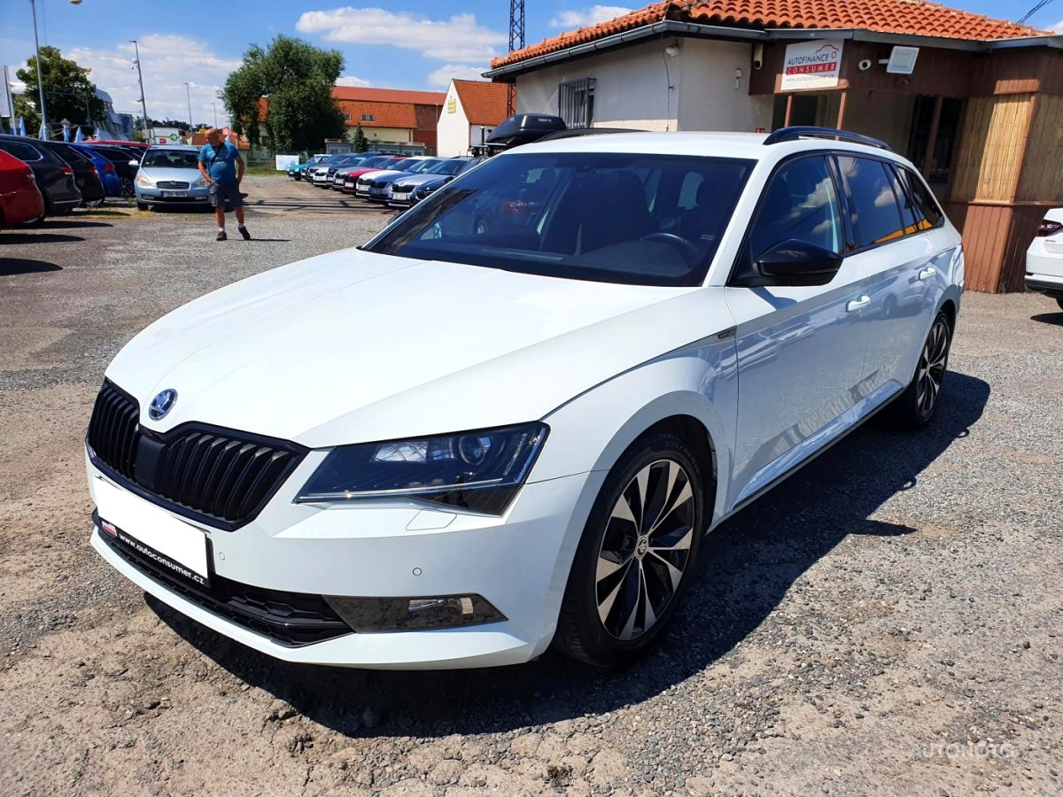 Škoda Superb, 2017 - celkový pohled