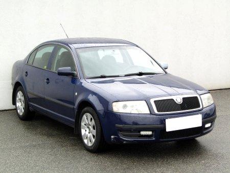 Škoda Superb, 2002