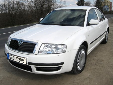 Škoda Superb, 2003
