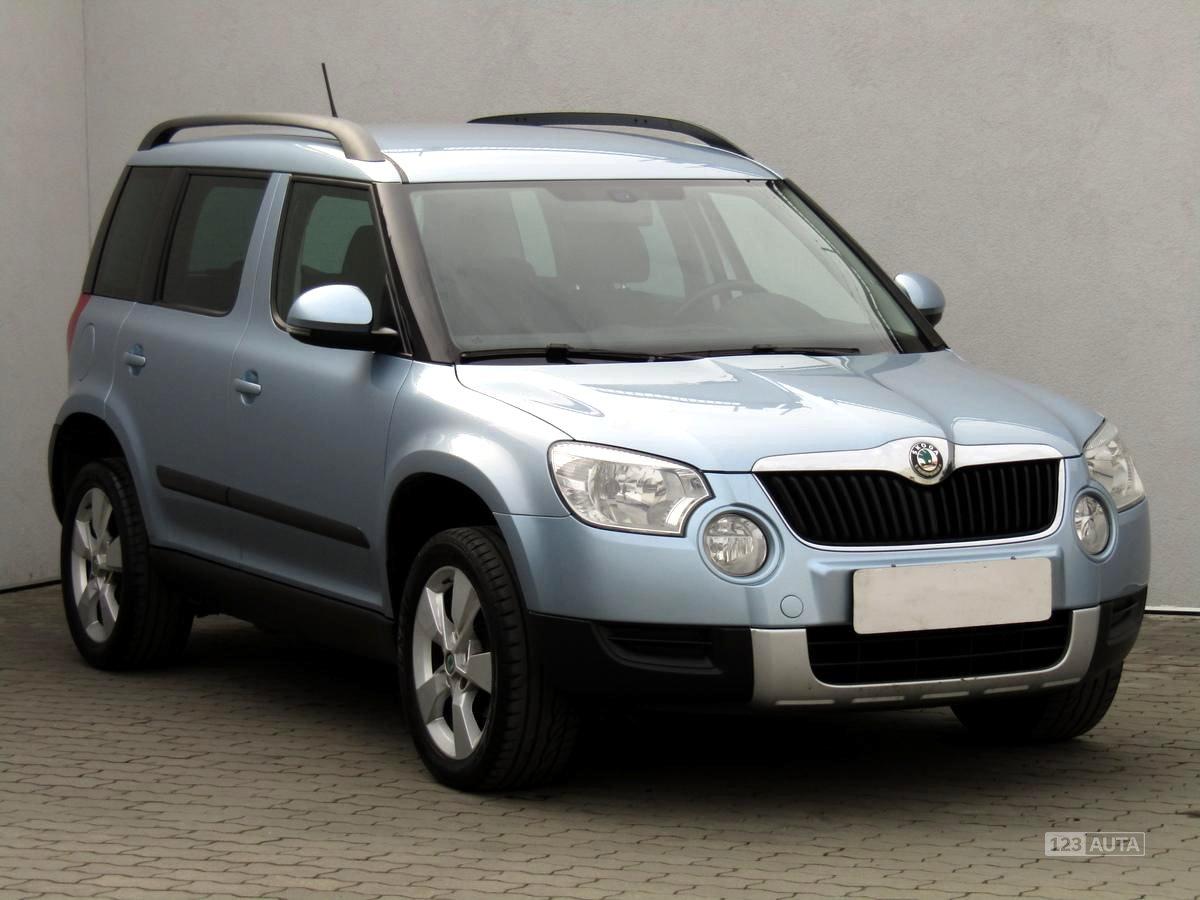 Škoda Yeti, 2013 - celkový pohled