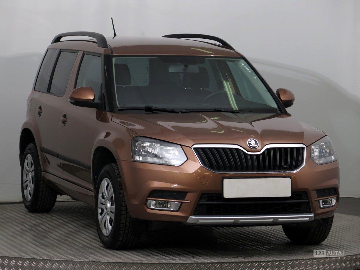 Škoda Yeti, 2015 - celkový pohled
