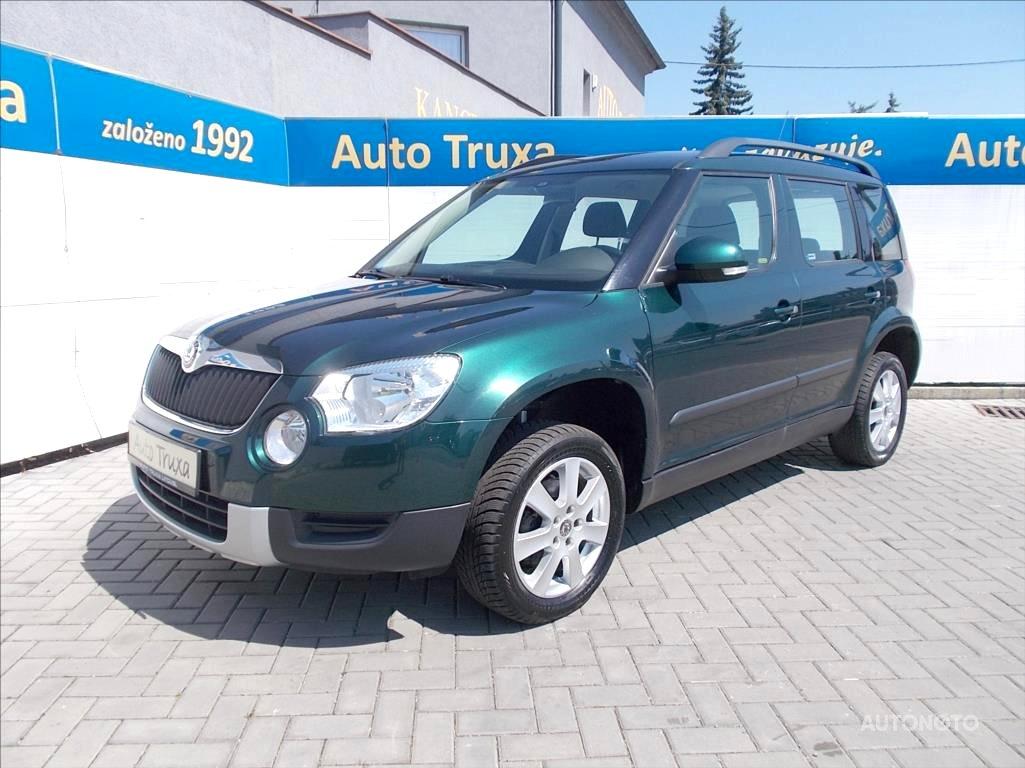 Škoda Yeti, 2010 - celkový pohled