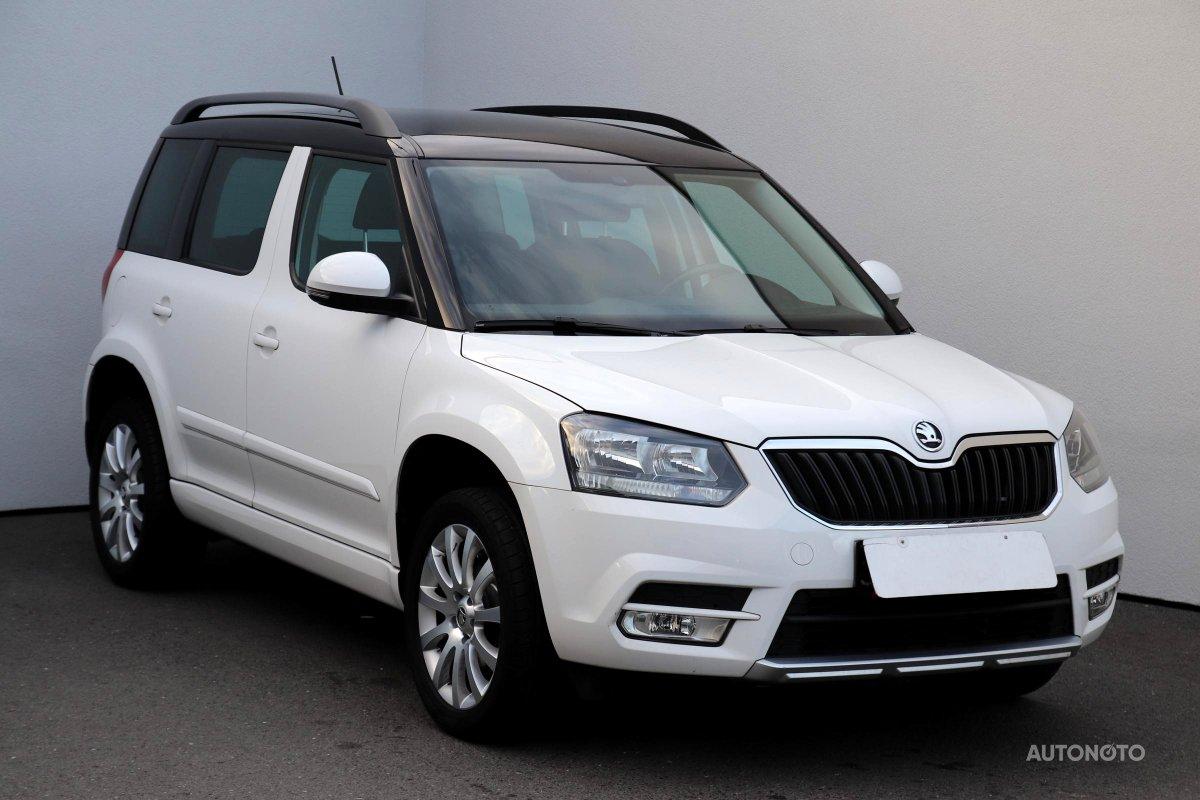 Škoda Yeti, 2014 - celkový pohled