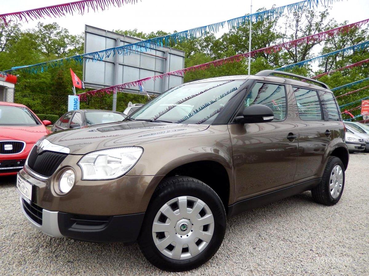 Škoda Yeti, 2011 - celkový pohled