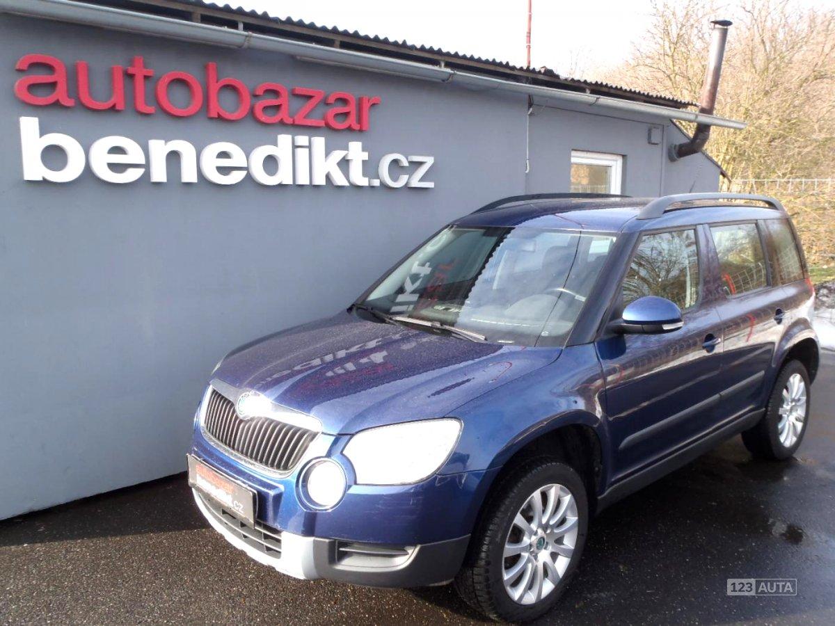 Škoda Yeti, 2009 - celkový pohled