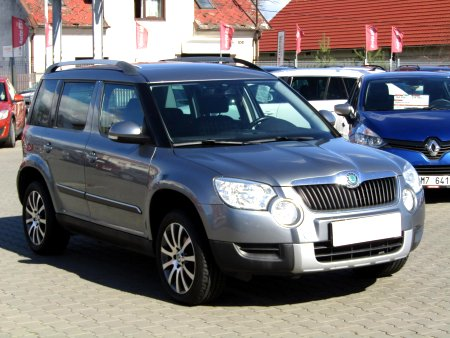 Škoda Yeti, 2012