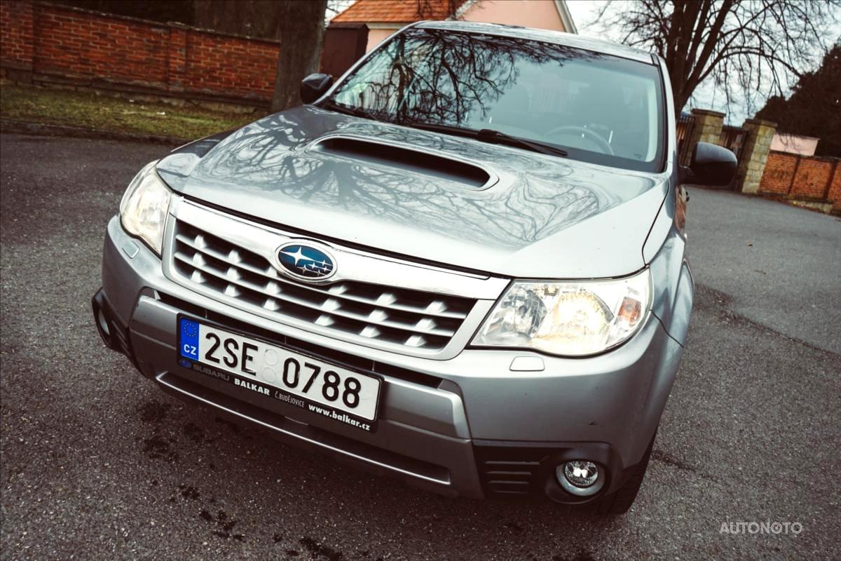 Subaru Forester, 2011 - celkový pohled