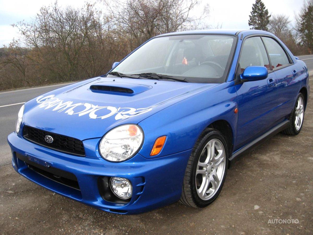 Subaru Impreza, 2001 - celkový pohled