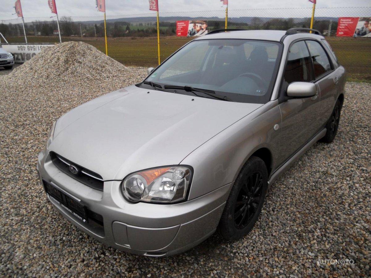 Subaru Impreza, 2004 - celkový pohled