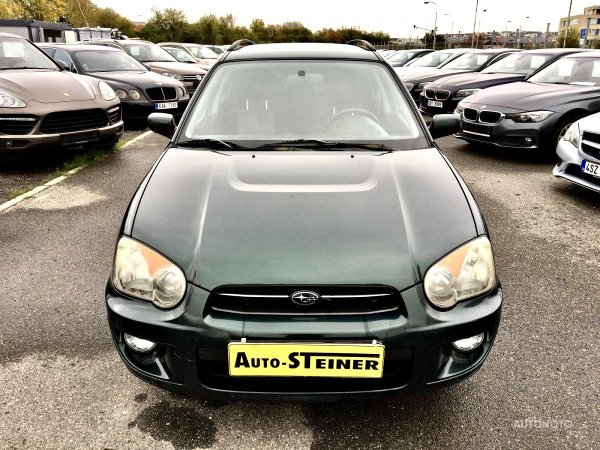 Subaru Impreza, 2003 - celkový pohled