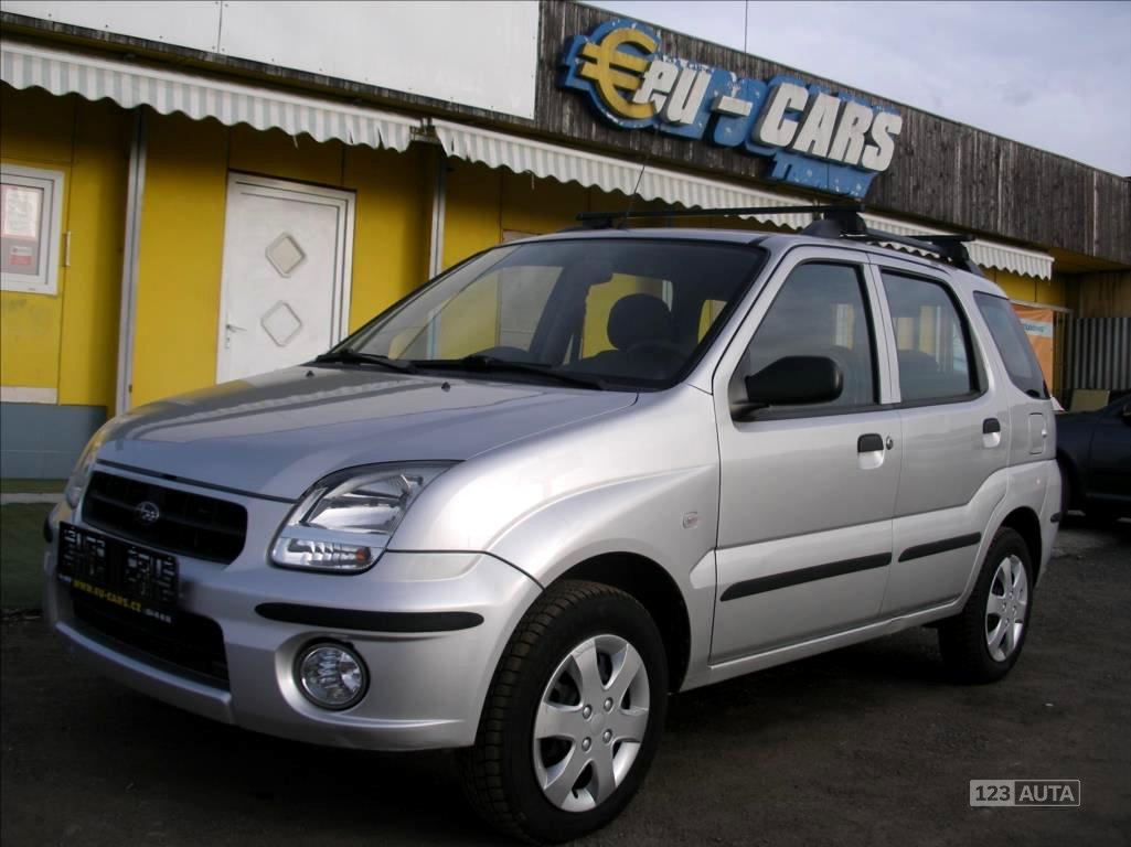Subaru Justy, 2006 - celkový pohled