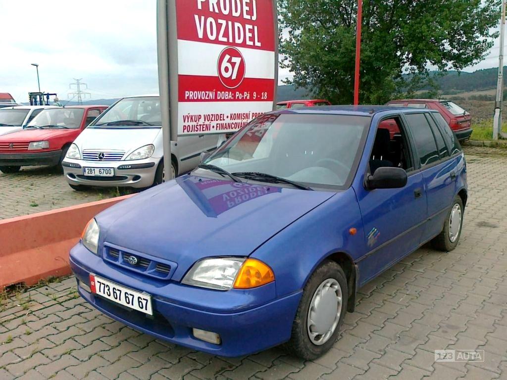 Subaru Justy, 1997 - celkový pohled