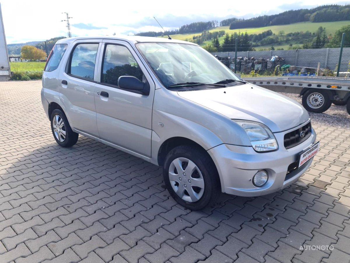 Subaru Justy, 2005 - celkový pohled
