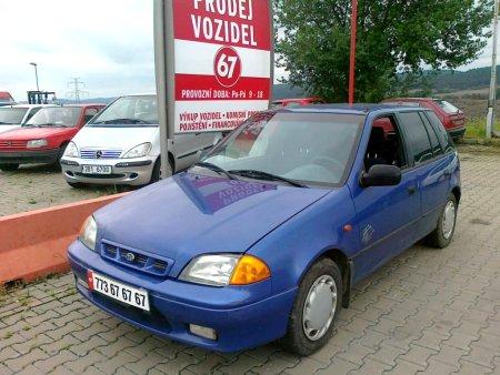 Subaru Justy, 1997