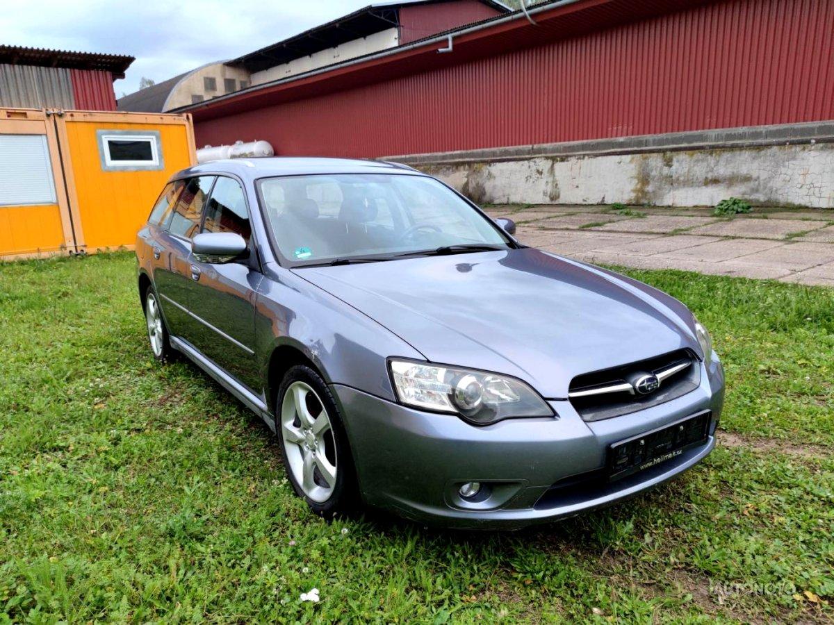 Subaru Legacy, 2006 - celkový pohled