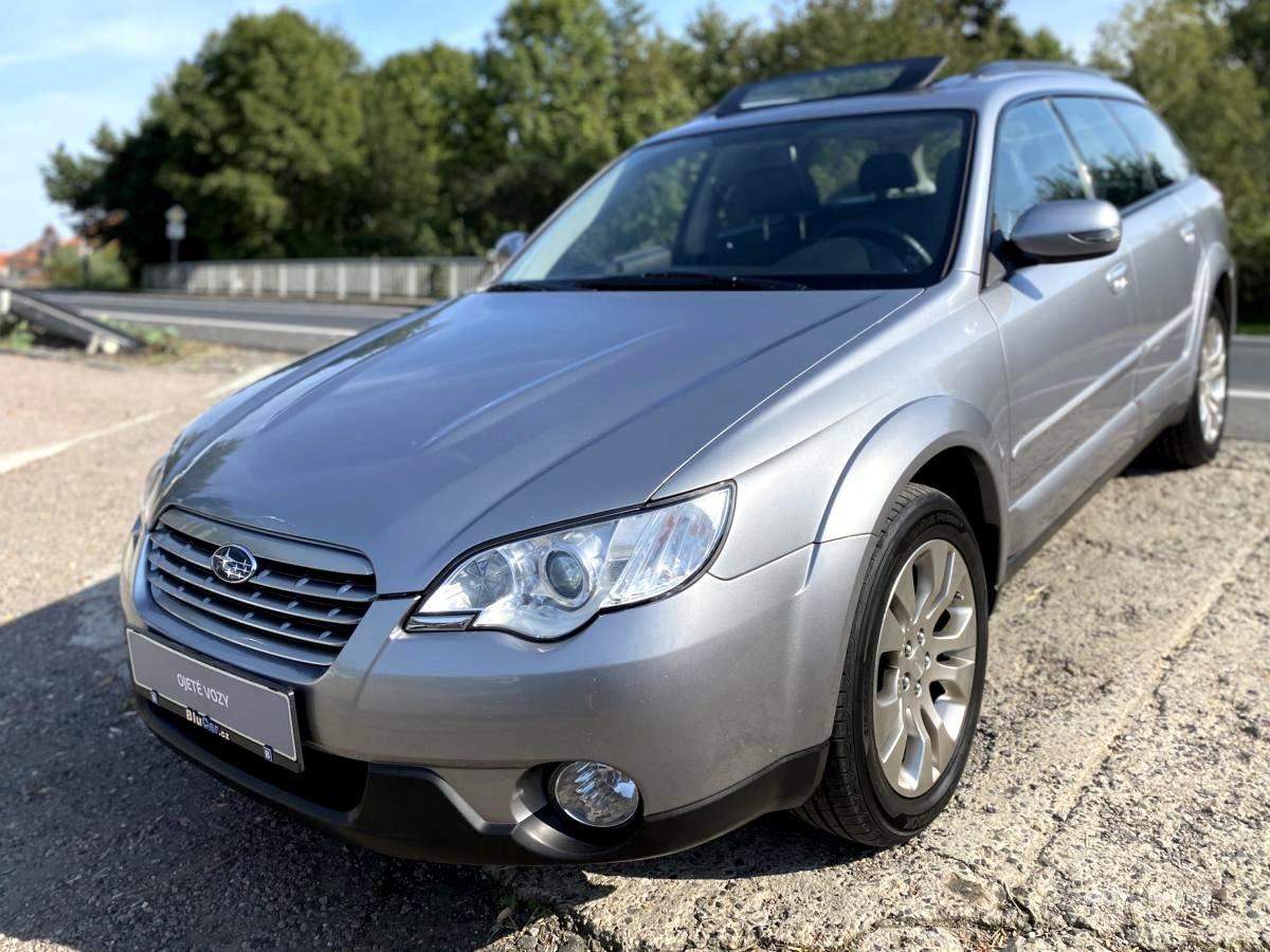Subaru Outback, 2008 - celkový pohled
