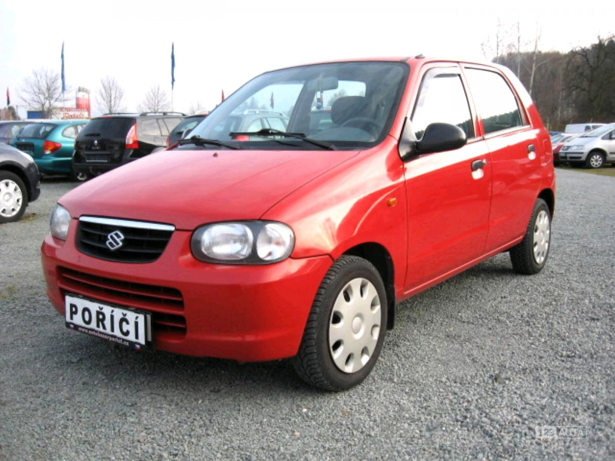 Suzuki Alto, 2003 - celkový pohled