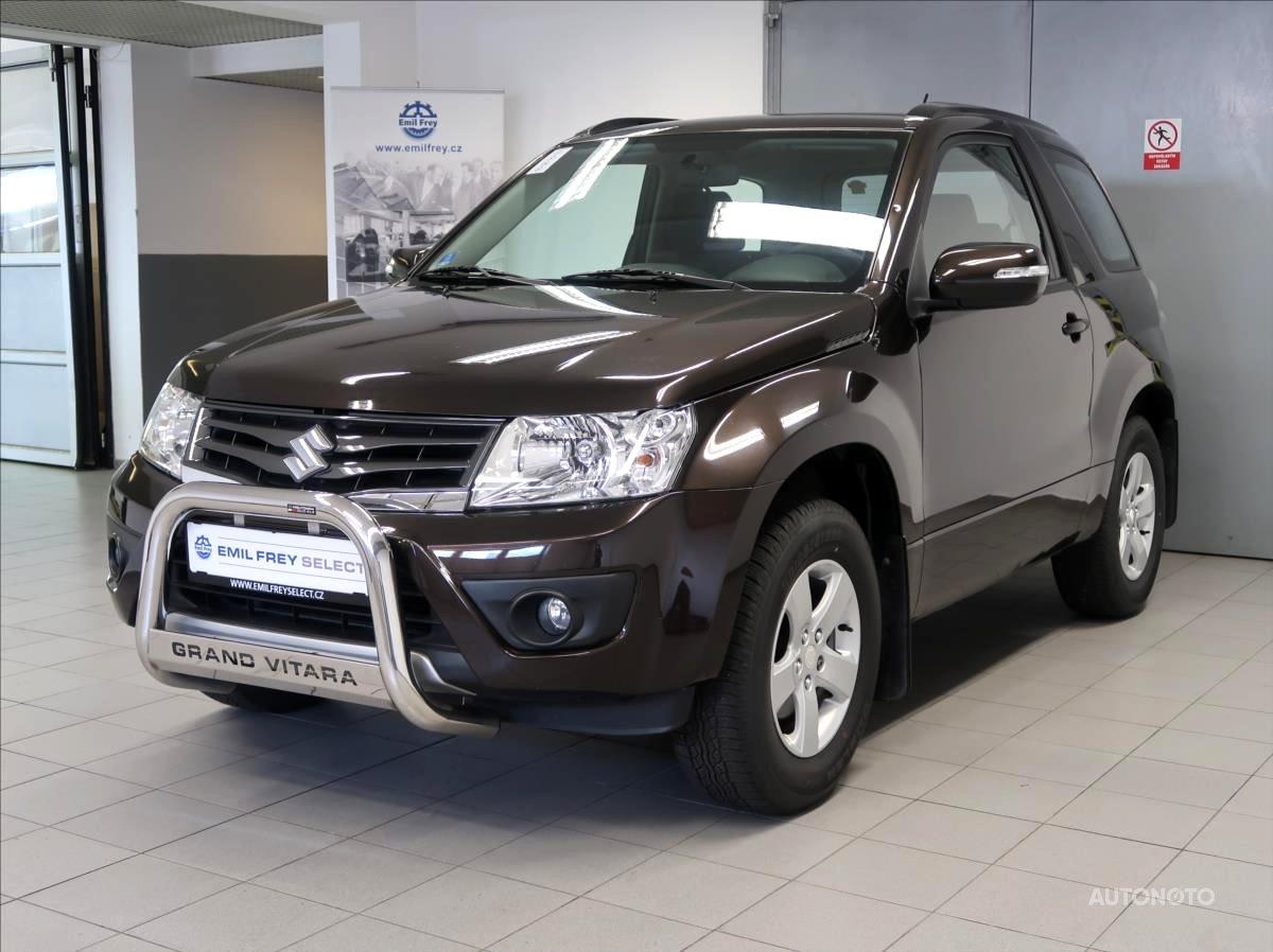 Suzuki Grand Vitara, 2014 - celkový pohled