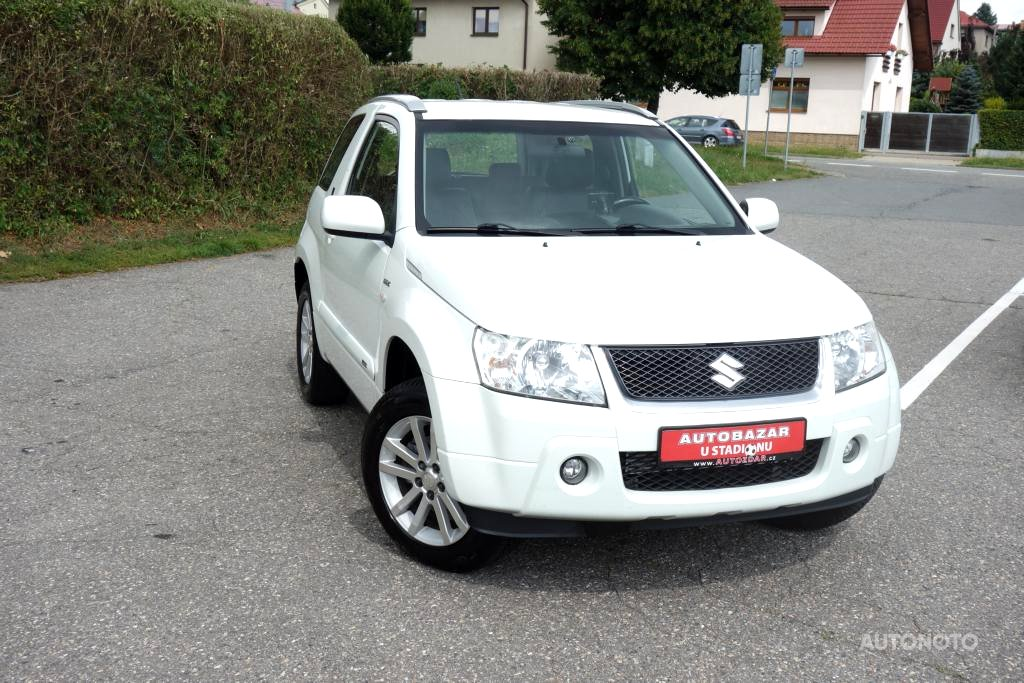 Suzuki Grand Vitara, 2008 - celkový pohled