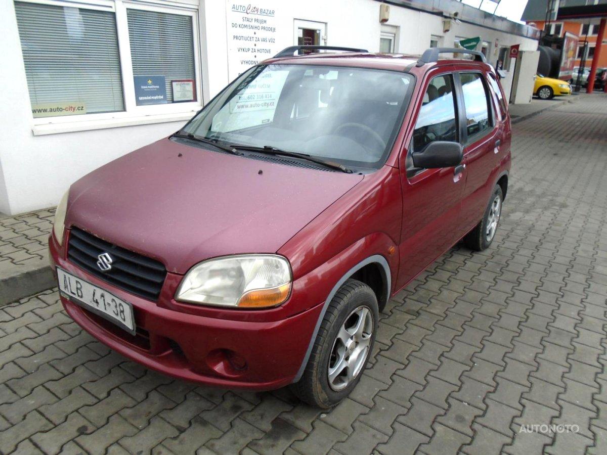 Suzuki Ignis, 2001 - celkový pohled