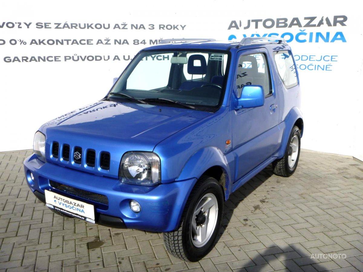 Suzuki Jimny, 2003 - celkový pohled