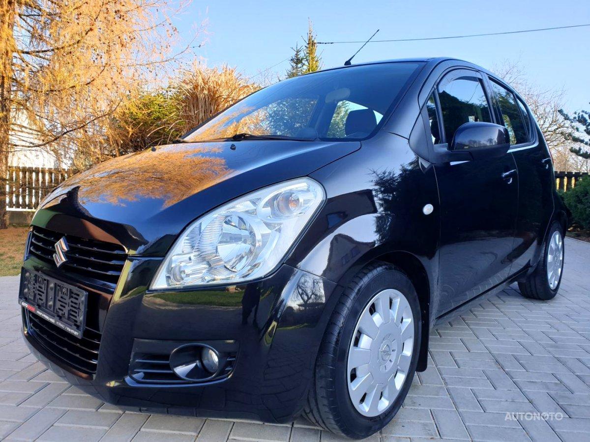 Suzuki Splash, 2008 - celkový pohled