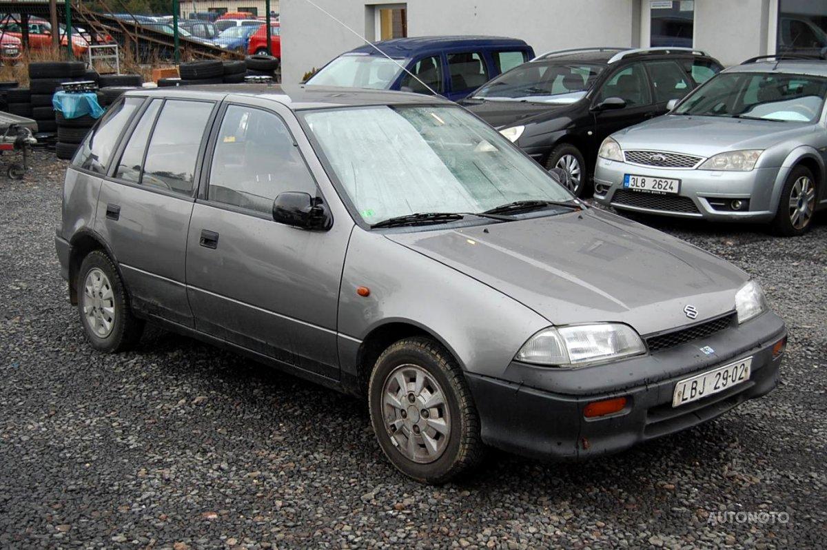 Suzuki Swift, 1994 - celkový pohled