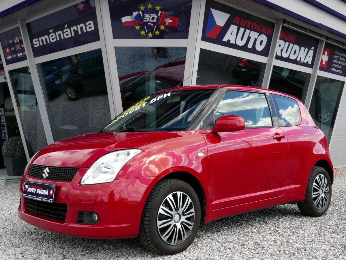 Suzuki Swift, 2007 - celkový pohled