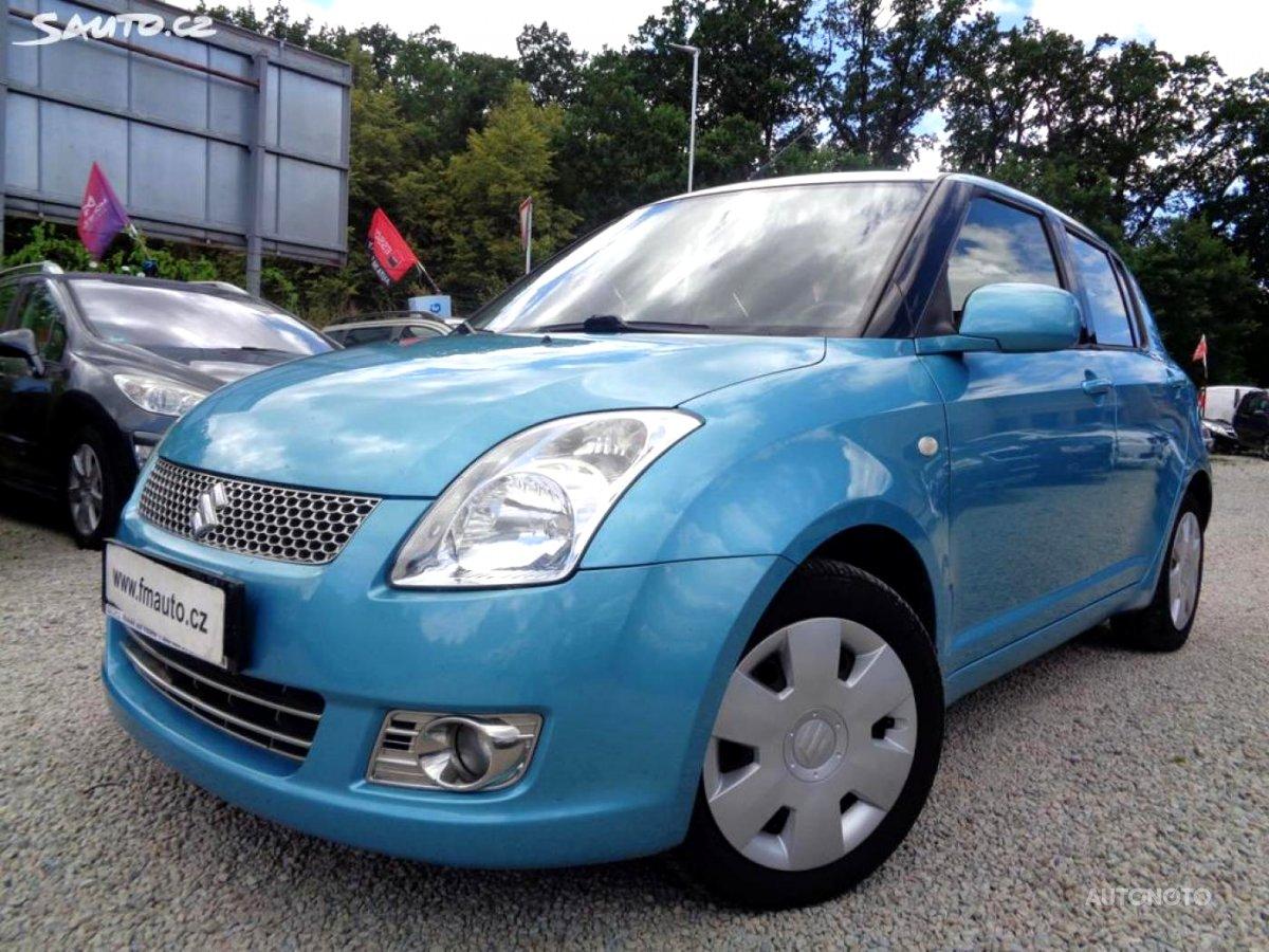 Suzuki Swift, 2008 - celkový pohled