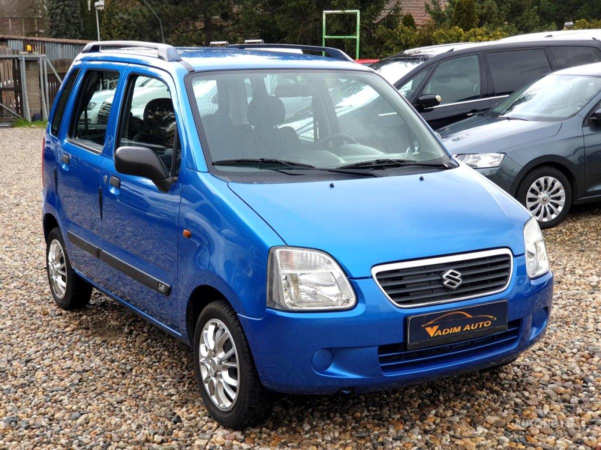 Suzuki Wagon R, 2004 - celkový pohled