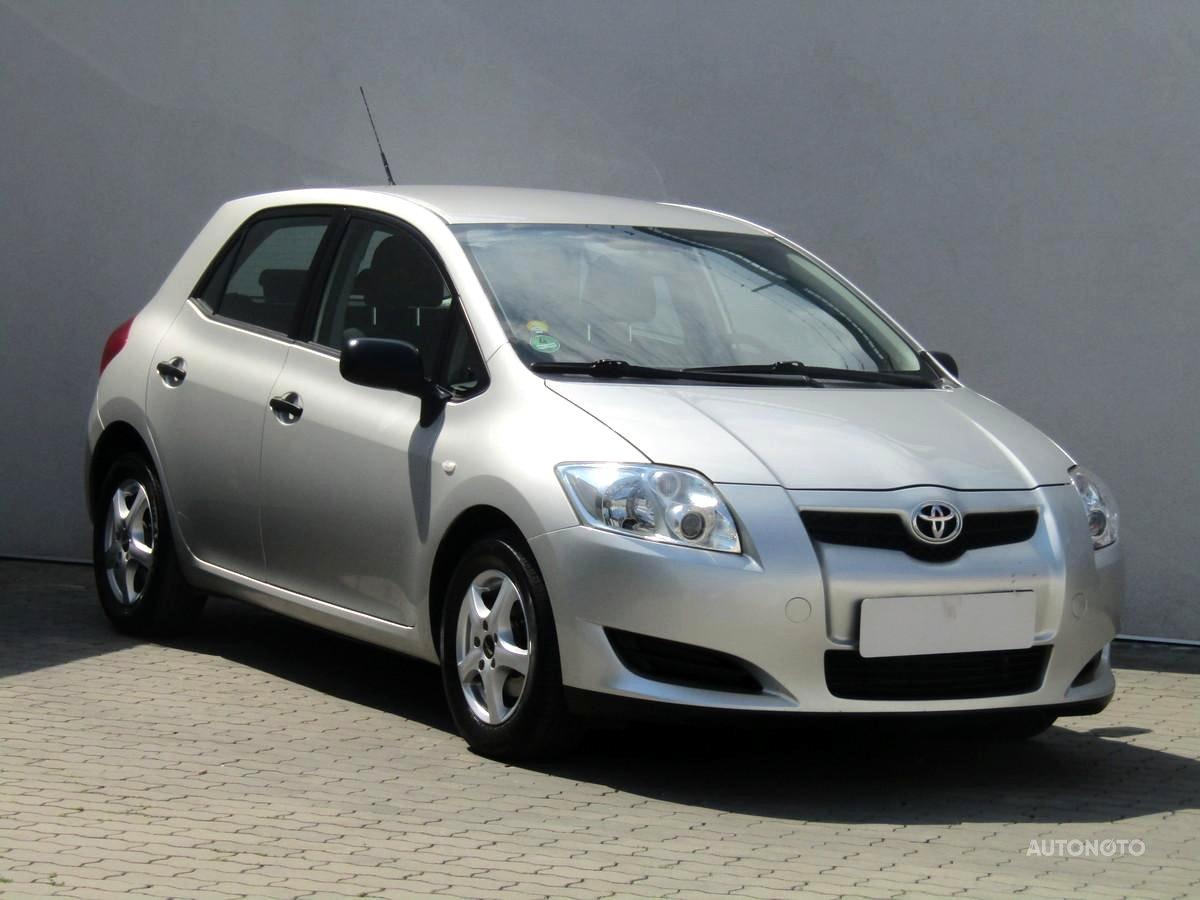 Toyota Auris, 2008 - celkový pohled