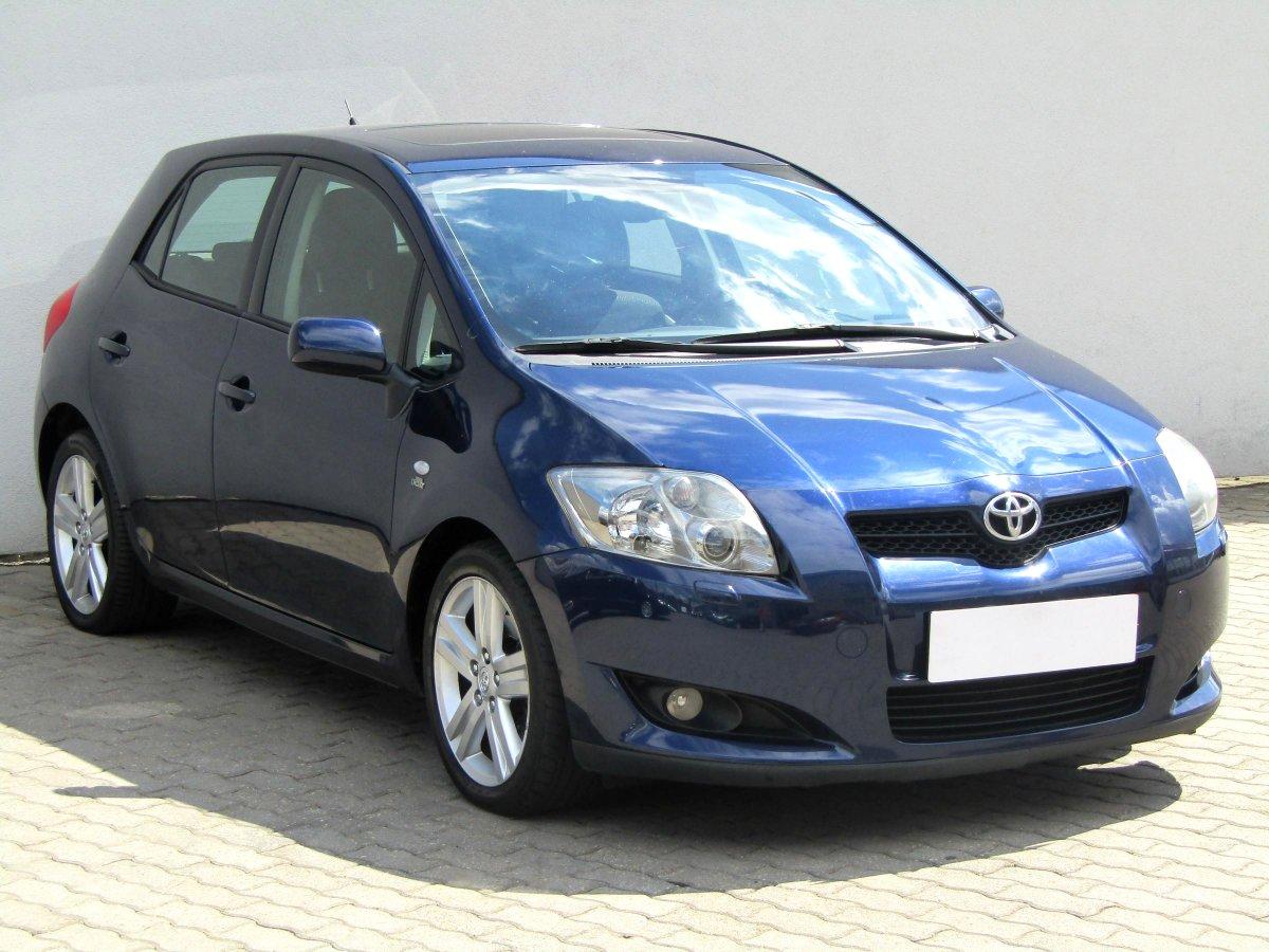 Toyota Auris, 2007 - celkový pohled