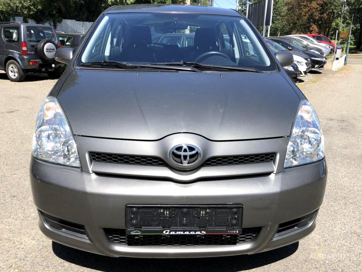Toyota Corolla Verso, 2005 - celkový pohled